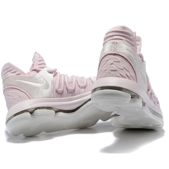 best service fe36e 08384 NIKE KD 10 AUNT PEARL GS PEARL PINK WHITE SAIL